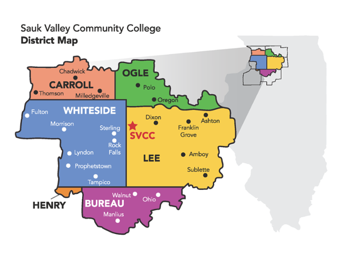 District Map Sauk Valley Community College