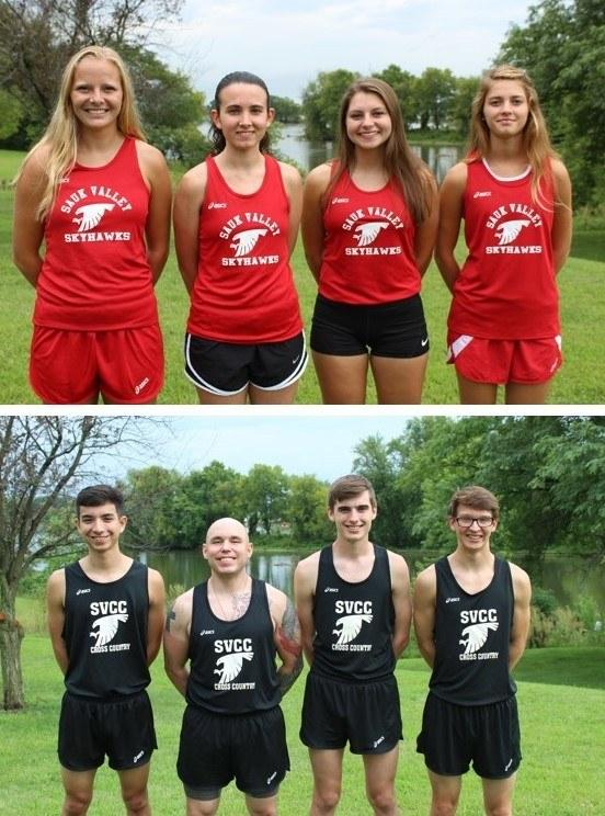 Skyhawks Cross-Country Roster Photo