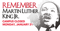Sauk Closed MLK Day - January 21
