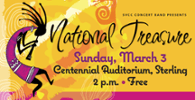 National Treasure - Spring Band Concert