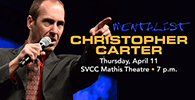 Mentalist Christopher Carter April 11