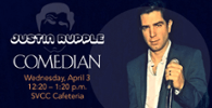 Comedian Justin Rupple April 3