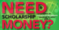 Scholarship Application Deadline April 1