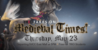 TRIO Takes on Medieval Times May 23