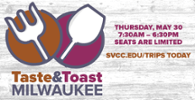 Taste & Toast Milwaukee May 30