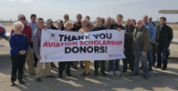 Aviation Donors Aim High