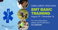 EMT Basic Training Coming Fall 2019