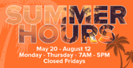 Sauk Summer Hours