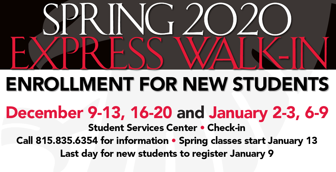 Spring 2020 Start.Express Walk In For New Students January 2020 News Sauk